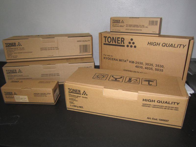TK475 Съвместима репроизведена тонер касета