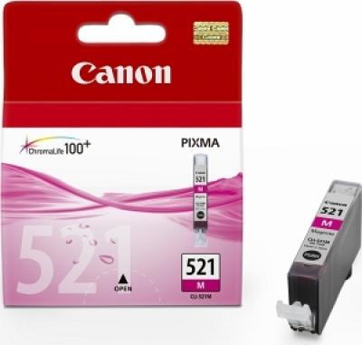 Canon CLI-521M Оригинална мастилена касета (магента)