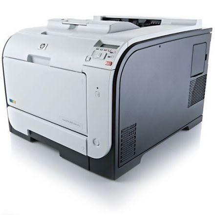 Втора употреба HP LaserJet M451DN цветен лазерен принтер с дуплекс и мрежа (сервизиран)