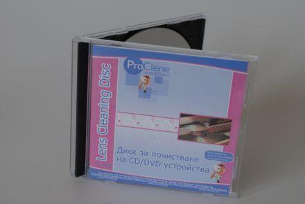 ProClene Почистващ диск за CD/DVD устройства CDL000