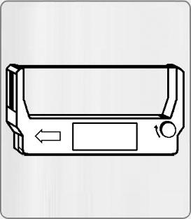 Лента за Epson ERC 23 (черна/червена)