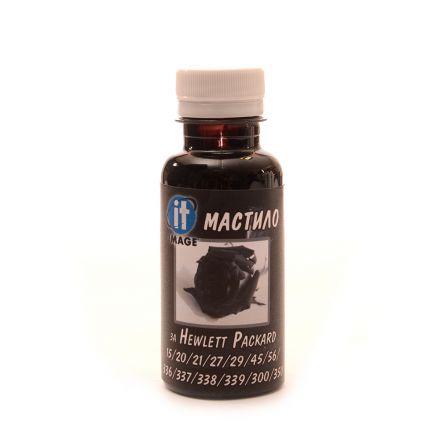 Универсално мастило за мастилени касети HP - 125 мл - черно