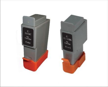 BCI-21Bk, BCI-24Bk Съвместима мастилена касета (черна)