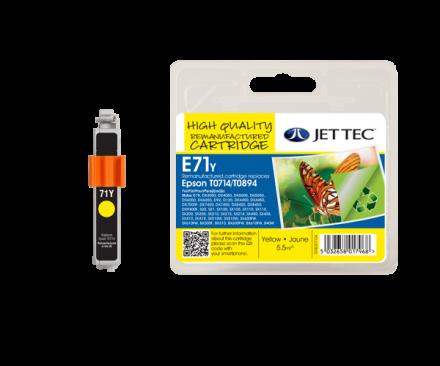 T071440 Съвместима мастилена касета (жълта)