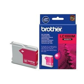 Brother LC1000M Оригинална мастилена касета (магента)