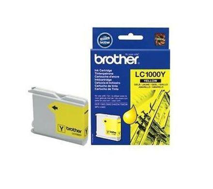 Brother LC1000Y Оригинална мастилена касета (жълта)