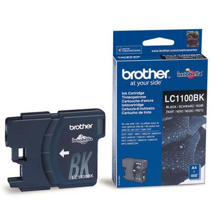 Brother LC1100BK Оригинална мастилена касета (черна)