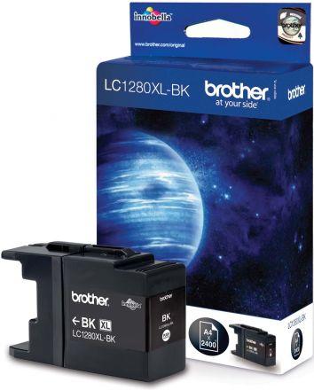 Brother LC1280XL-BK Оригинална мастилена касета (черна)