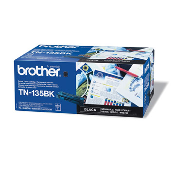 Brother TN135bk оригинална тонер касета (черна)