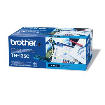 Brother TN135c оригинална тонер касета (циан)