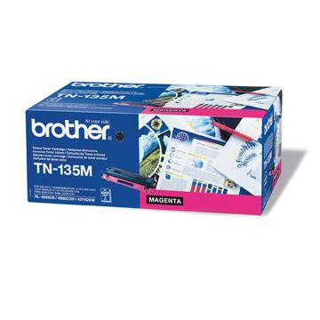 Brother TN135m оригинална тонер касета (магента)