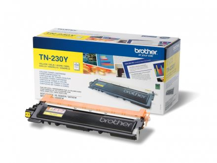 Brother TN230y оригинална тонер касета (жълта)
