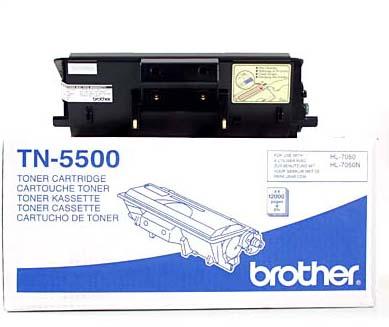 Brother TN5500 оригинален тонер кит (черен)
