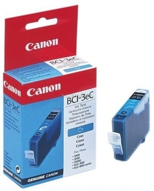 Canon BCI-3C Оригинална мастилена касета (циан)