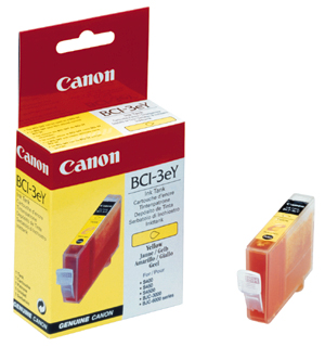 Canon BCI-3Y Оригинална мастилена касета (жълта)
