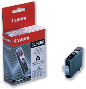 Canon BCI-6Bk Оригинална мастилена касета (черна)