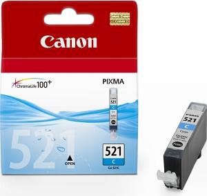 Canon CLI-521C Оригинална мастилена касета (циан)