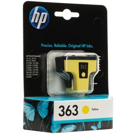 HP C8773EE оригинална мастилена касета (жълта)