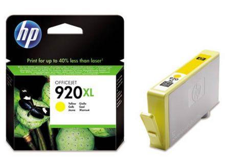 HP CD974AE Оригинална касета мастилена глава (жълта)