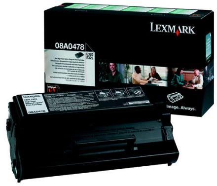 Lexmark 08A0478 оригинална тонер касета (черна)