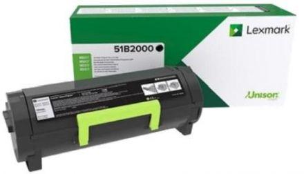 Lexmark 51B2000 оригинална тонер касета (черна)