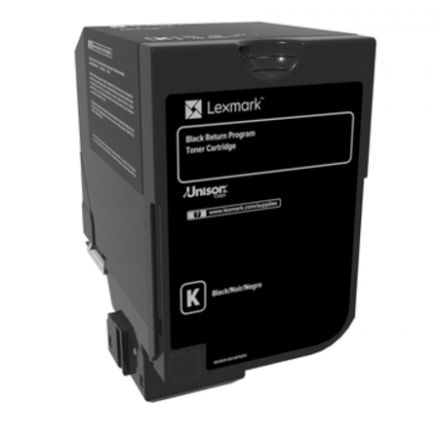 Lexmark 74C20K0 оригинална тонер касета (черен)