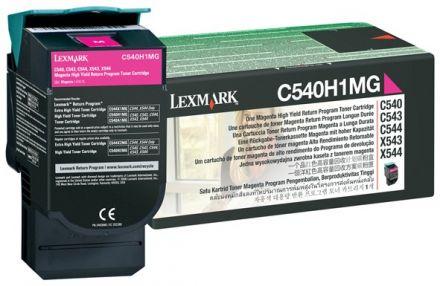 Lexmark 0C540H1MG оригинална тонер касета (магента)