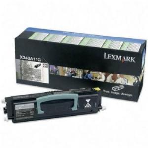 Lexmark 0X340A11G оригинална тонер касета (черна)
