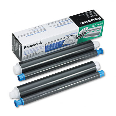 Panasonic KX-FA55 Original Thermal Transfer Ribbon (черен)