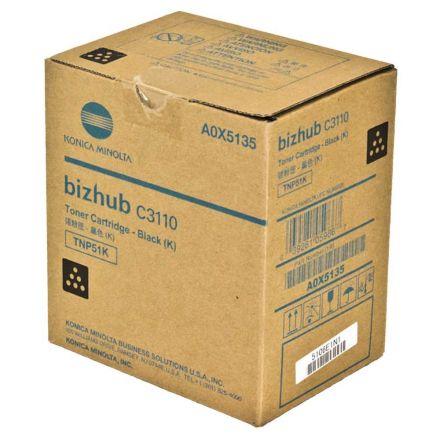 Minolta TNP51K Оригинална тонер касета (черен)