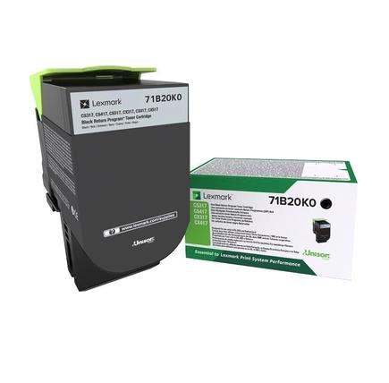 Lexmark 71B20K0 оригинална тонер касета (черен)