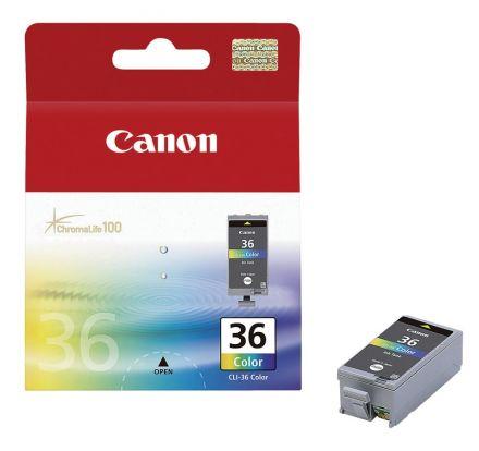 Canon CLI-36 оригинална мастилена глава (цветна)
