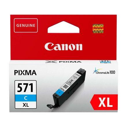 Canon CLI-571XL C Оригинална мастилена касета (циан)