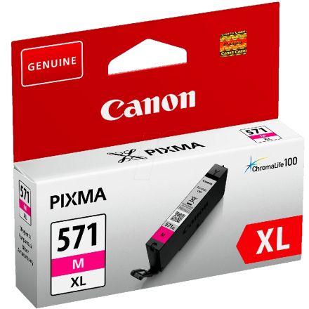 Canon CLI-571XL M Оригинална мастилена касета (магента)