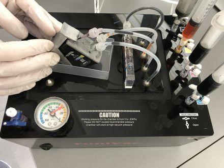 Презареждане на цветна мастилена касета
