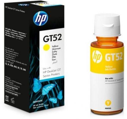 HP GT52 оригинална мастилена касета (жълт)